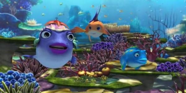 Наживка для акулы - мультфильм (2006). Кадр из мультфильма