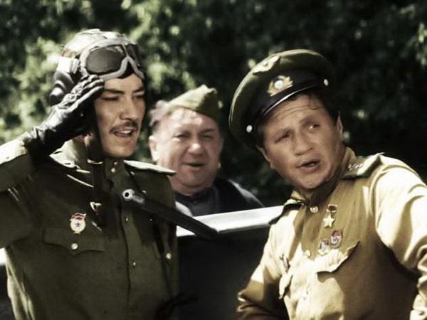 В бой идут одни старики - фильм (1973). Кадр из фильма