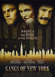 Банды Нью-Йорка - фильм (2002) на сайте о хорошем кино Устрица