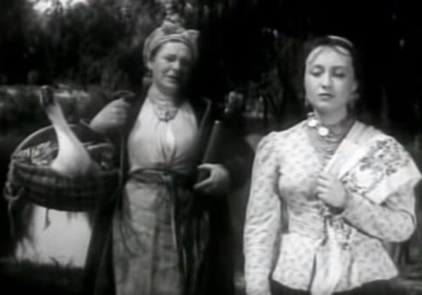 Сватанье на Гончаровке (Сватання на Гончарівці) - фильм (1958). Кадр из фильма