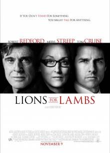 Львы для ягнят - фильм (2007) на сайте о хорошем кино Устрица