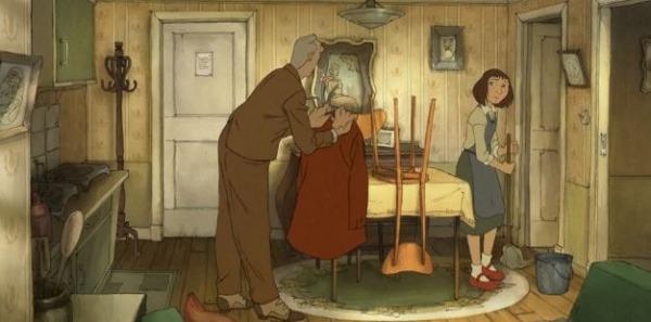 Иллюзионист - мульфильм (2010). Кадр из мультфильма