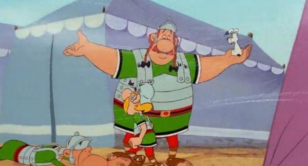 Астерикс против Цезаря - мультфильм (1985). Кадр из мультфильма