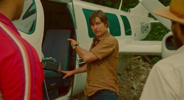 Барри Сил: Король контрабанды - фильм (2017). Кадр из фильма