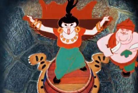 Бременские музыканты - мульфильм (1968). Кадр из мультфильма