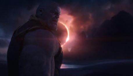 Танос - кадр из фильма Мстители: Война бесконечности