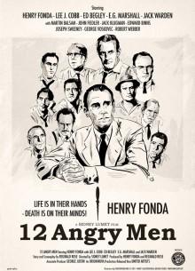 12 разгневанных мужчин - фильм (1957) на сайте о хорошем кино Устрица
