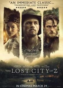 Затерянный город Z - фильм (2016) на сайте о хорошем кино Устрица