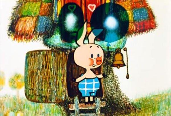 Винни Пух - мульфильм. Кадр из мультфильма