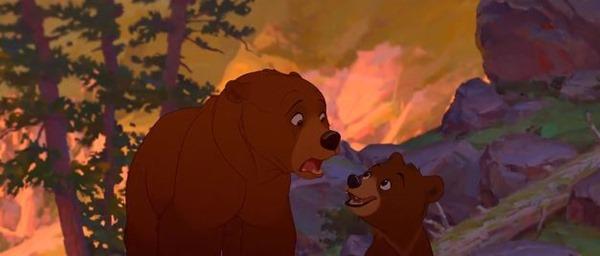 Братец медвежонок - фильм (2004). Кадр из мульфильма