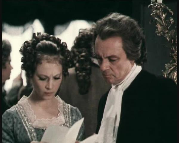 Стакан воды - фильм (1979). Кадр из фильма