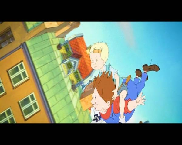 Карлсон, який мешкає на даху - мультфільм (2002). Кадр з мультфільму