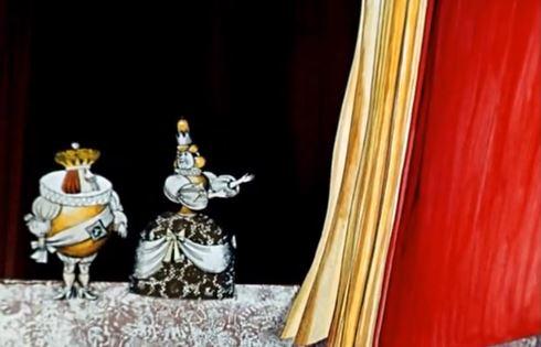 Алиса в Зазеркалье - мультфильм (1981). Кадр из мультфильма