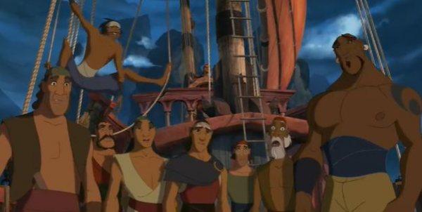 Синдбад: Легенда семи морей - мультфильм (2003). Кадр из мульфильма