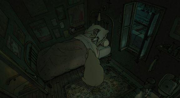 Трио из Бельвилля - анимационный фильм (2003). Кадр из фильма