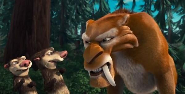 Ледниковый период 2: Глобальное потепление - мультфильм (2006). Кадр из мультфильма