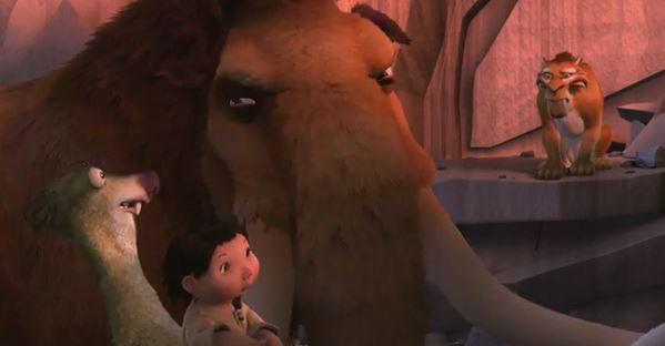 Ледниковый период - мультфильм (2002). Кадр из мультфильма