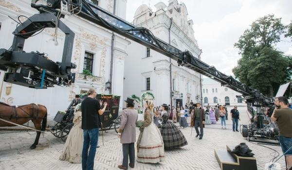 Сериал Крепостная - кадр со съемок мелодрамы