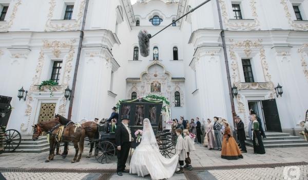 Сериал-мелодрама Крепостная (Украина) - кадр со съемок