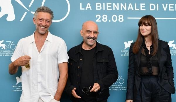 Моника Беллуччи и Венсан Кассель на фестивале в Венеции